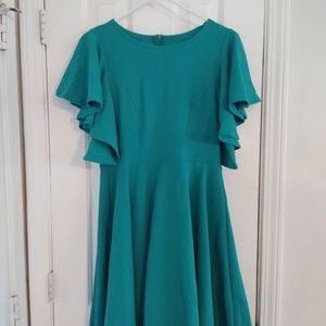 Dresses & Skirts - NWOT Teal Dress size XL
